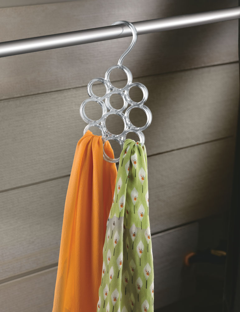 Scarf Hanger - Acrylic Image. Click any image to view in high resolution