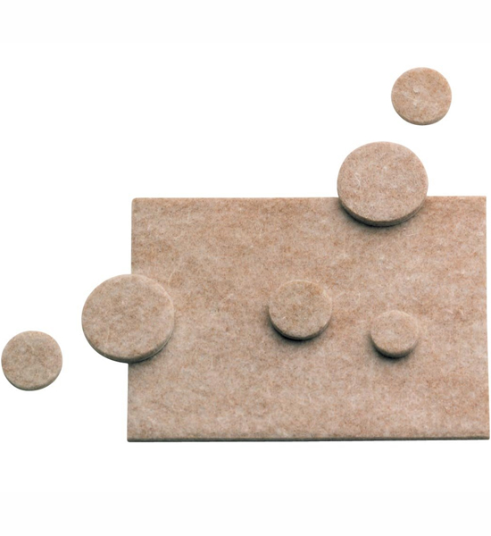 Self Adhesive Felt Pads and Disks in Furniture Accessories