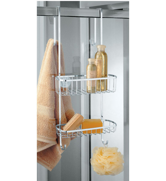 stainless steel shower door organizer image click any image to view in high resolution