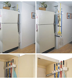 Lovely ... Mop And Broom Holder Image. Click Any Image To View In High Resolution