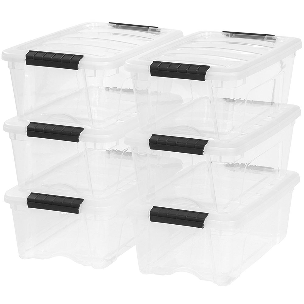 ... Clear Plastic Storage Box Small Image Click Any Image To View In High  Resolution ...