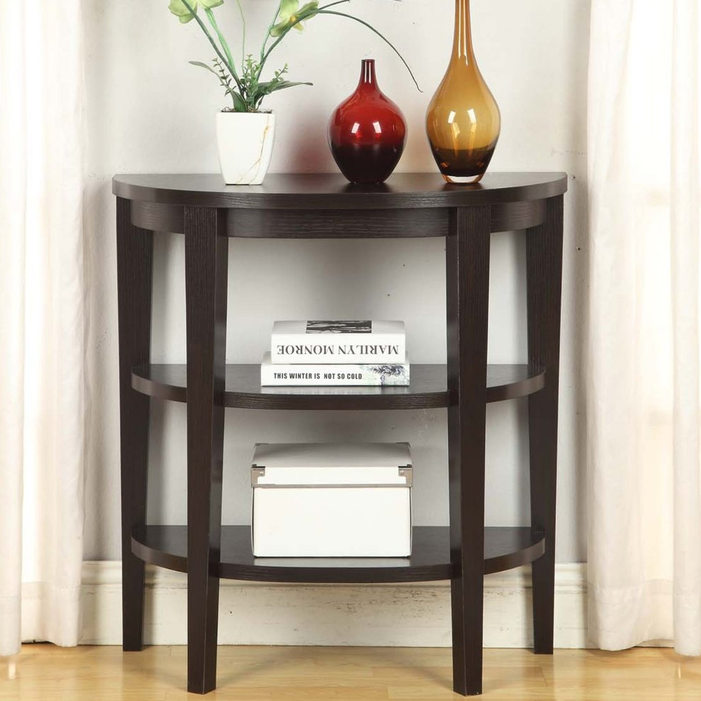 Small entryway table in accent tables Small entryway table
