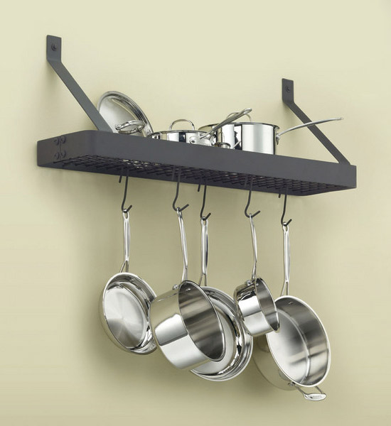 Wall Mount Pot Rack by Cuisinart in Wall Mount Pot Racks