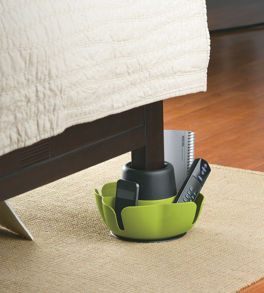 storage pod bed riser (set of 5) in bed risers