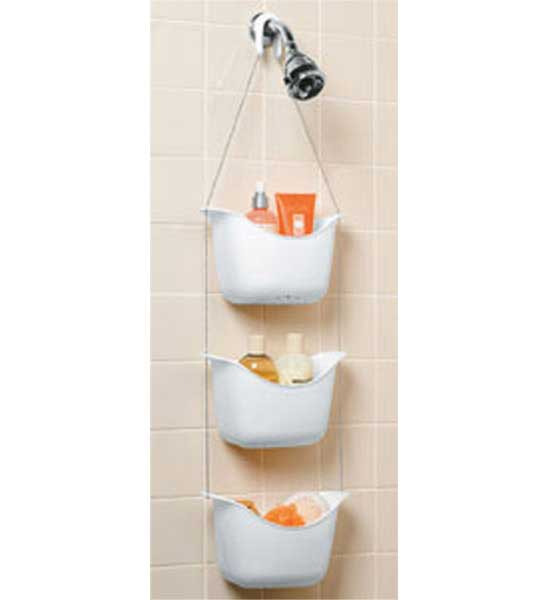 three basket shower caddy image click any image to view in high resolution