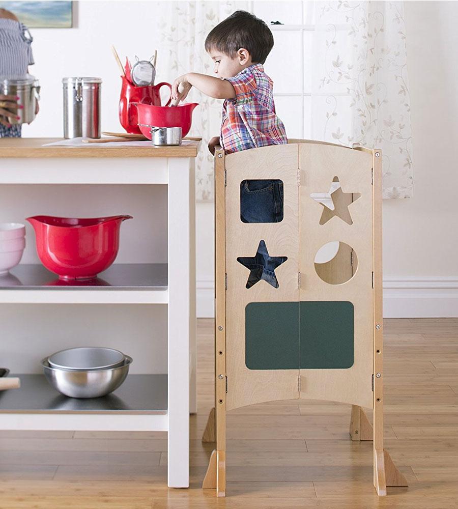 Toddler Kitchen Helper In Kids Step Stools