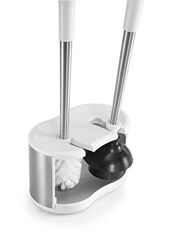Toilet Brush And Plunger Storage Caddy In Toilet Plungers