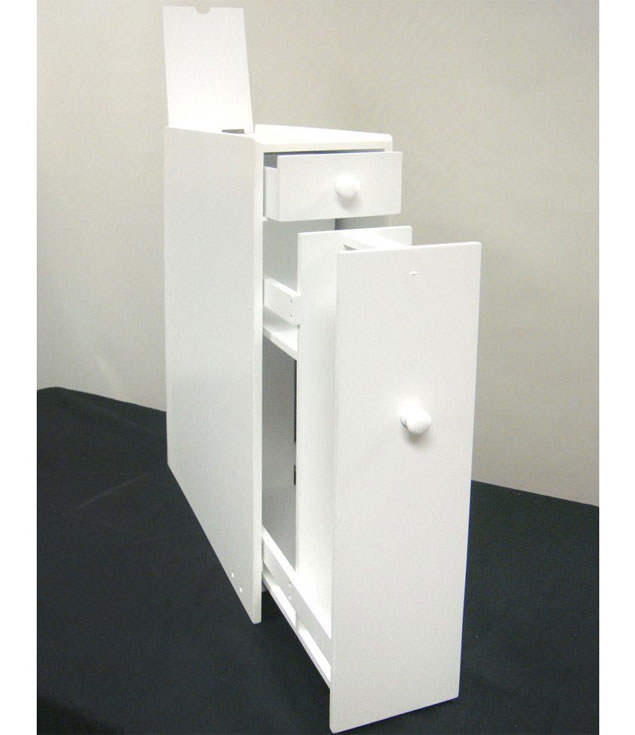 Toilet paper storage cabinet white in toilet paper storage for Washroom cabinet