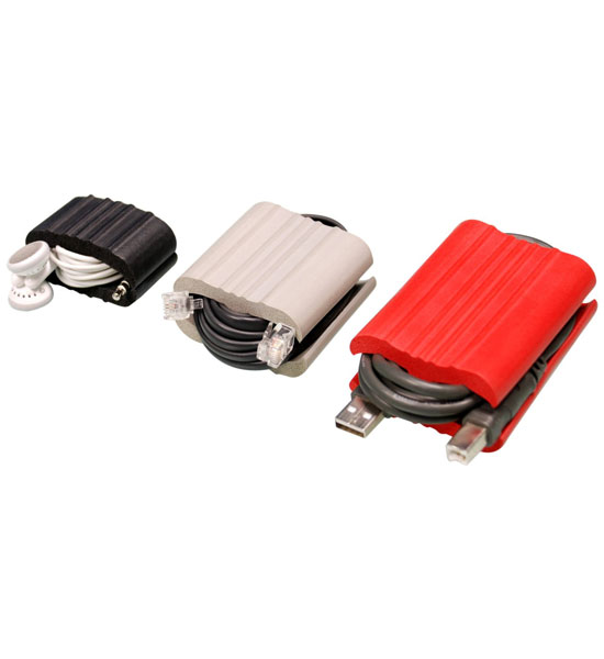 Travel Cord Organizer 3 Piece Set In Cable Organizers