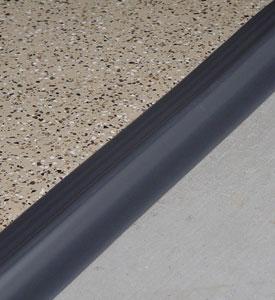Tsunami Garage Door Seal Gray In Garage Floor Protection