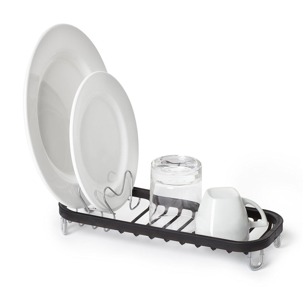 Umbra small dish drainer in dish racks - Dish racks for small spaces set ...
