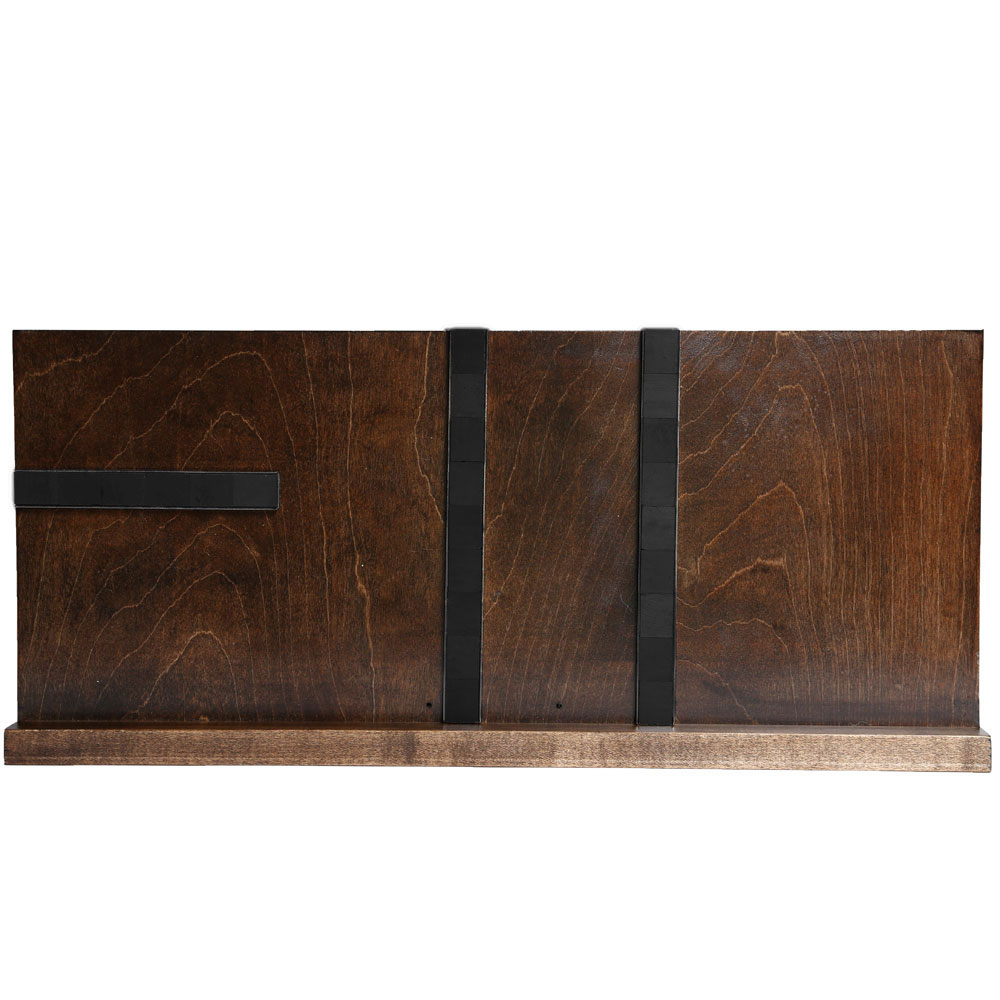 Under Cabinet Knife Block Walnut In Knife Storage Cabinet Knife Block