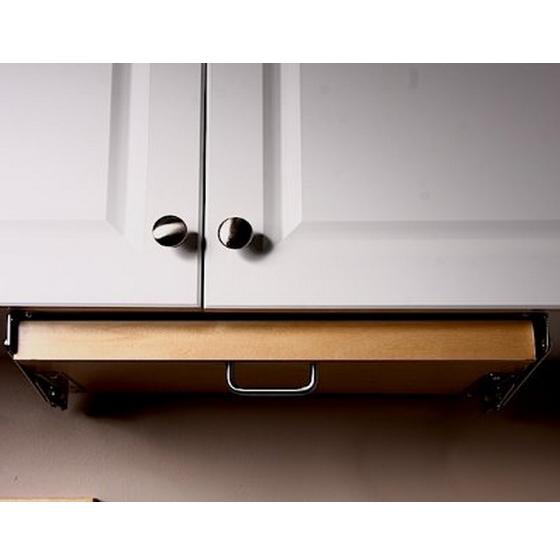 Under cabinet knife block in knife storage for Under cabinet knife drawer