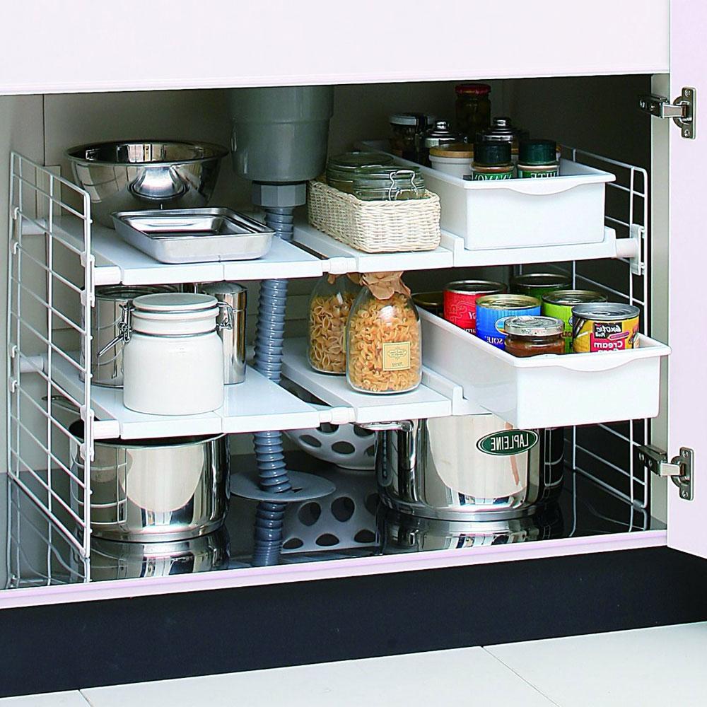28 under sink kitchen shelf under new expandable