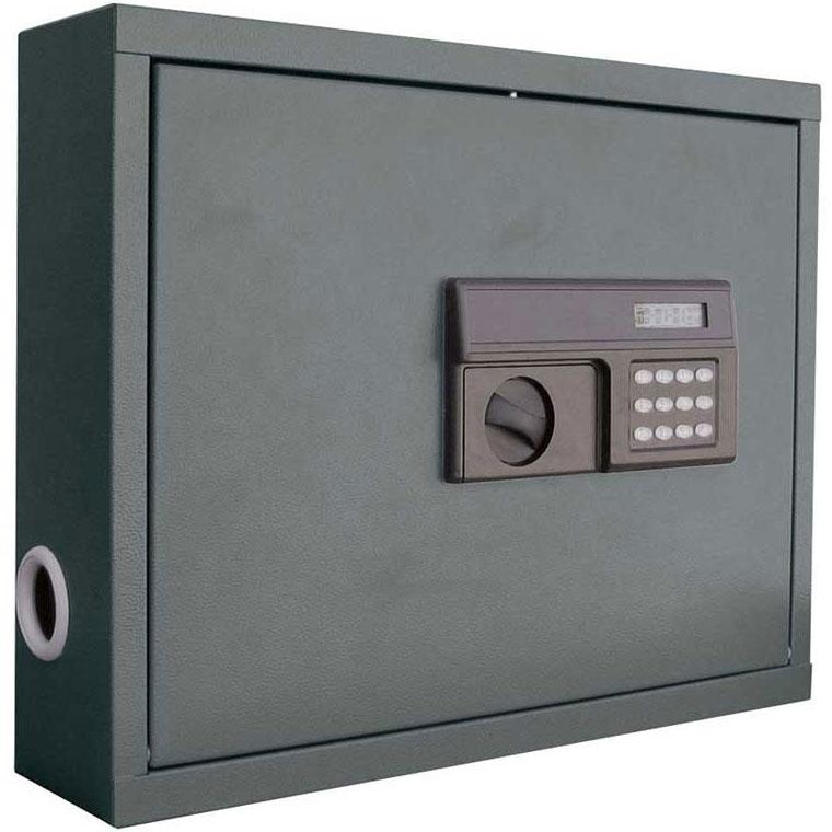 Wall Mount Laptop Safe : Locking wall mount laptop workstation in home safes