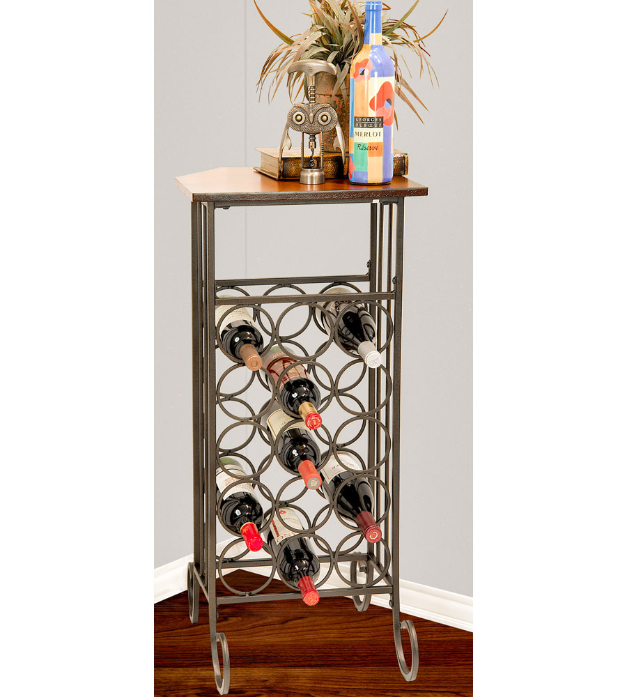 Kitchen Table With Wine Rack: Wine Rack End Table In Wine Racks