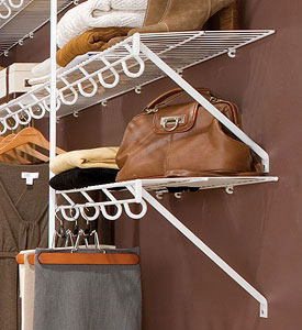 Lifetime Ventilated Wire Closet Shelving