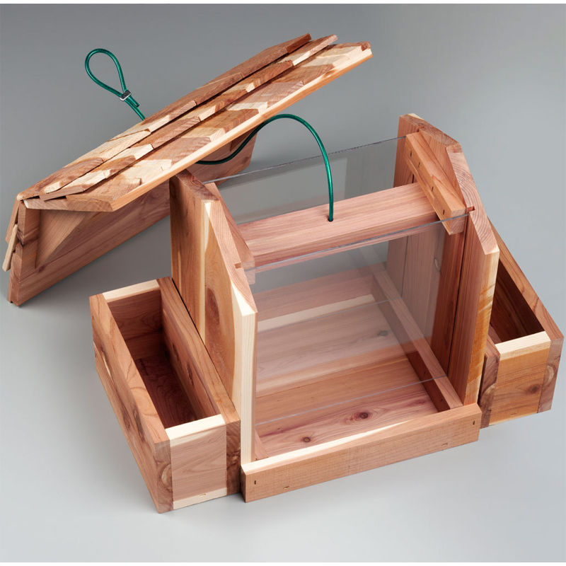 garden seed planters with Wood Bird Feeder Flower Planter on garden Advice as well Cannova Bronze Scarlet Canna also Cute Tiny Succulent Planters Instantly furthermore 600085 also Jute Garden Apron.