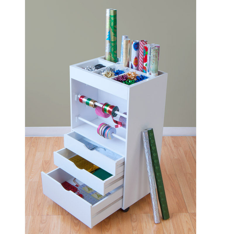 Wrapping Paper Cart By Studio Designs In Gift Wrap Organizers