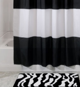 Zebra Bath Mat in Accent Rugs