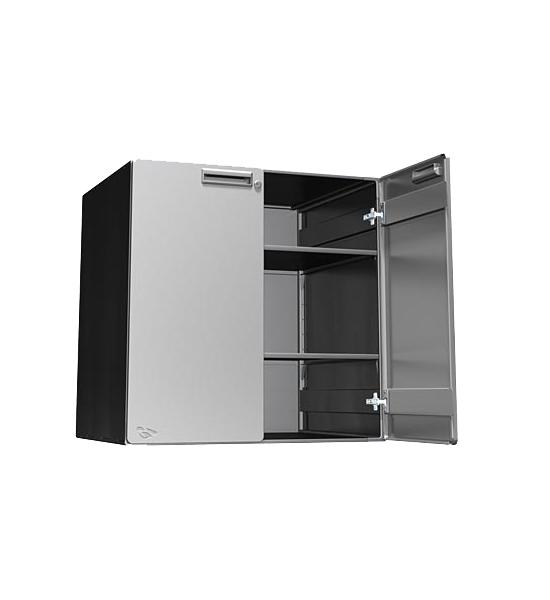 Steel garage cabinet 30x30x24 inch upper in steel for 24 inch upper kitchen cabinets