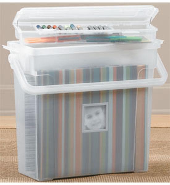 Scrapbook Organizer In Scrapbook Organizers