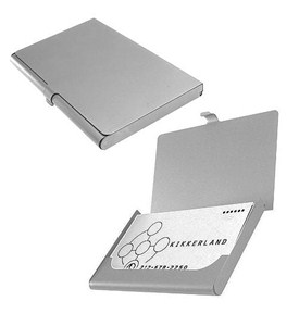 Aluminum Business Card Holder Image