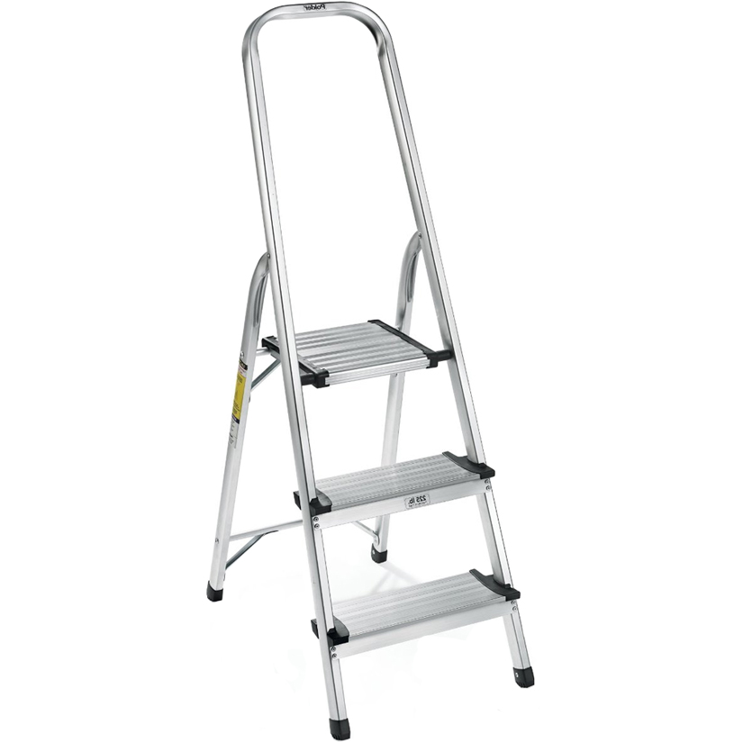 Aluminum 3 Step Ladder In Step Stools