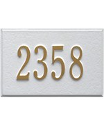Aluminum Address Plaque For Mailbox