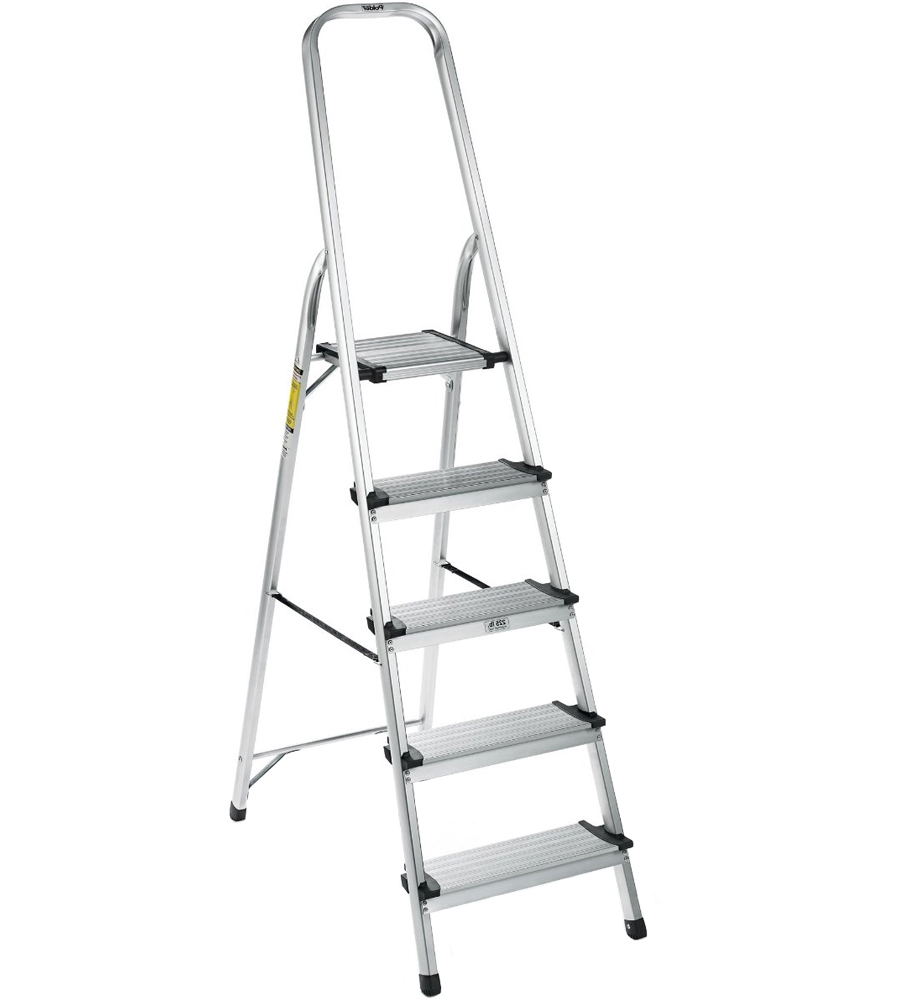 Aluminum Step Ladder In Step Stools