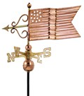 American Flag Weathervane by Good Directions - 667P