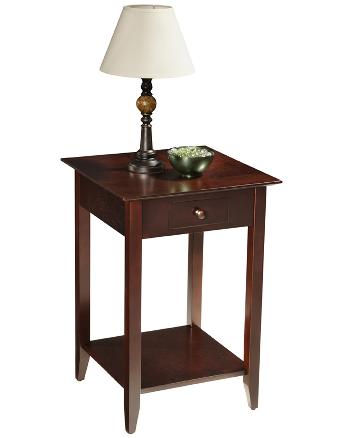 Side Tables Accent and End Tables Glass End Tables