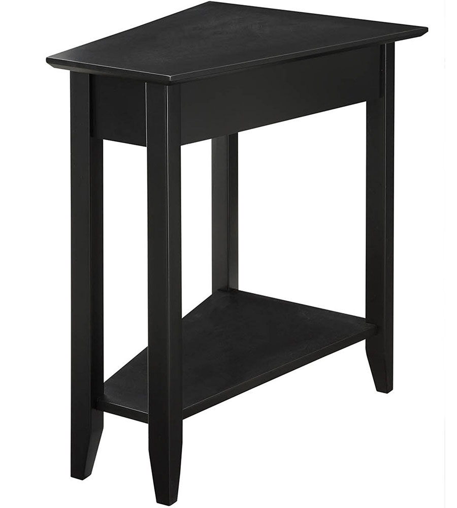 Wedge End Table in Side Tables