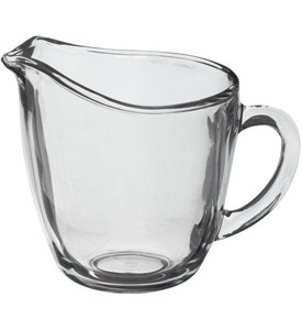 Anchor Hocking Glass Creamer Image