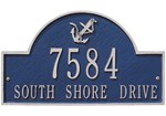 anchor-arch-wall-address-plaque-two-line Review