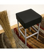 Andante Black Faux Leather Counter Stool - by Wholesale Interiors - BS-320-black