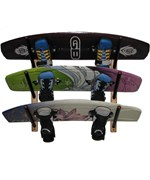 Angled Wakeboard Wall Rack