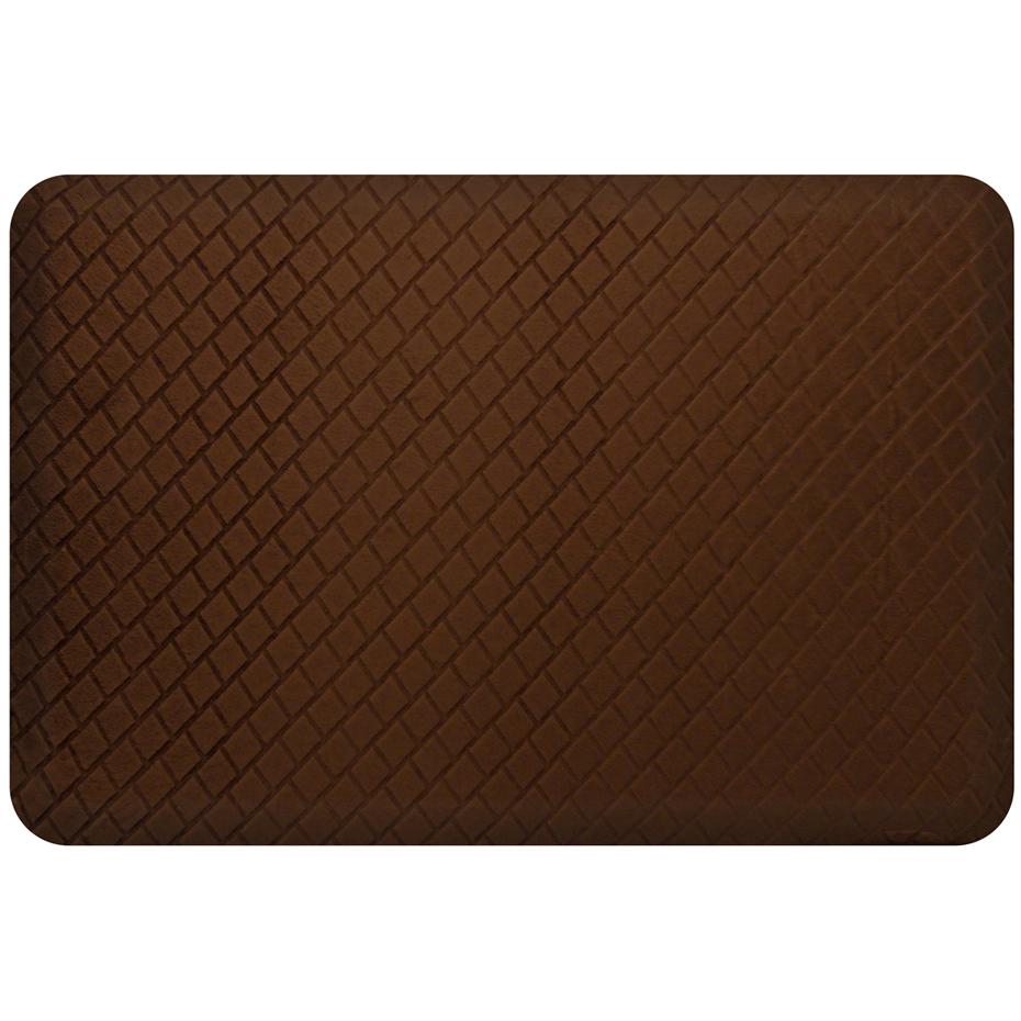Anti Fatigue Floor Mat Basketweave 3 X 2 In Kitchen Mats