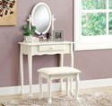 Antique White 2PCS Vanity Set by Monarch Specialties