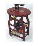 Apachi Wine Rack Table - 11 Bottle
