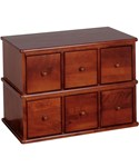 Apothecary CD File Drawers