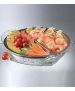 Stainless Steel Iced Appetizers Serving Tray