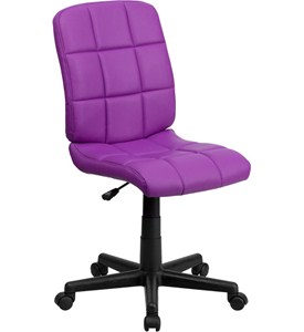 Armless Computer Chair Image