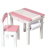 Art Desk and Chair Set