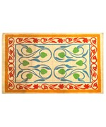 Artistic Latex Back Jute Rug by Imports Decor