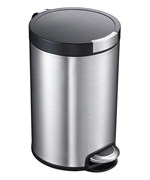 5L Artistic Stainless Steel Pedal Trash Can