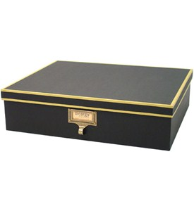 Cargo Stationery Box - Black Image