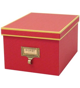 Cargo Atheneum DVD Storage Box - Red Image
