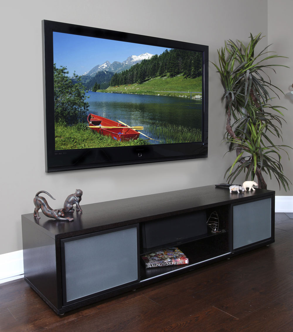 TV Stands Flat Panel TV Entertainment Centers OrganizeIt