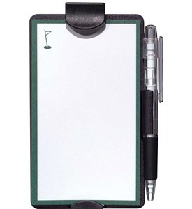 Auto Notes Pad and Pencil Visor Clip Image